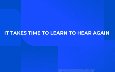 It Takes Time To Learn To Hear Again